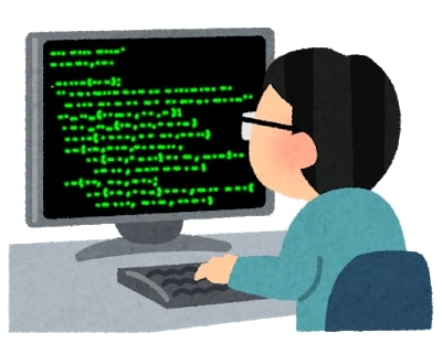パソコンに向かうWebライター