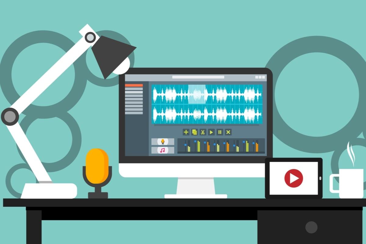 【ブログ初心者/執筆作業・その14】ブログに音声を埋め込む方法